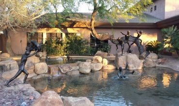 Statues Playing | Stonegate Community Association of Scottsdale, Arizona